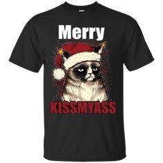 Merry Kissmyass Birman Christmas Shirts