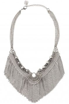 This fringe necklace is cute with the right amount of sparkle. www.stelladot.com/sherrie
