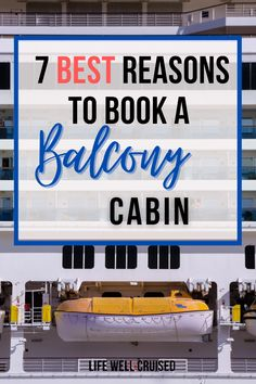 Should you book a cruise ship balcony cabin? The most important reasons to book a balcony cabin on your cruise (both common and uncommon). If you're wondering if a balcony cabin is worth it, we go over the benefits. #cruiseship #cruisetips #cruisecabins #cruises #cruising Cruise Packing Tips, Cruise Travel, Cruise Vacation, Vacations, Cruise Ship Reviews, Best Cruise Ships, Travel Hacks, Travel Guide, Carnival Cruise Ships