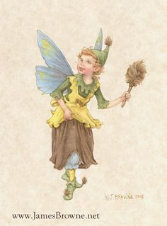 DUSTING HOUSEHOLD FAIRY
