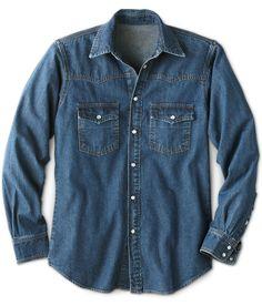 b8c9c85b680 Men s American Classic Abilene Denim Shirt