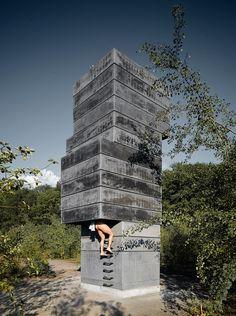 one man sauna_by ModulorBeat_Bochum, Germany