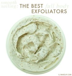 exfoliators to help you get ready for your best summer body // obsessed with a yummy smelling scrub!