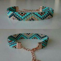 Lovely beaded bracelet