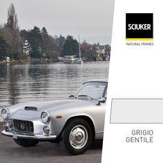 Alla scoperta della finitura #GrigioGentile per le finestre #Sciuker con un'icona di #design: la #Lancia #Flaminia. Frame, Design, Picture Frame, Frames