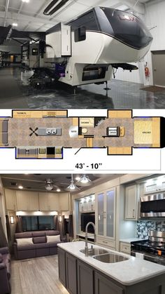 Discover the Essence of Luxury by building your very own Luxe Luxury Fith wheel. This 42RL offers plenty space to live full time in comfort. Luxury Fifth Wheel, Build Your Own, Floor Plans, Building, Wheels, Live, Space, Diy, Floor Space