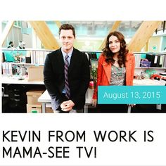 Kevin from work is mama see TV