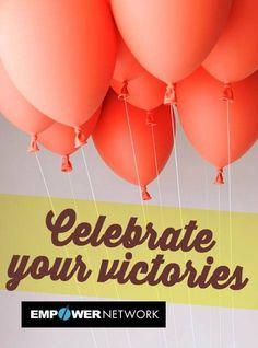 Celebra as tuas vitórias!