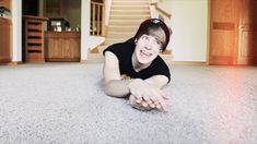 """[Patty] I smile brightly, """"I'm dating the most beautiful girl in the whole wide world, Marie. Patty Walters, Off Band, 3 Gif, Rawr Xd, Black Veil Brides, Be A Nice Human, Pop Punk, Dan And Phil, The Most Beautiful Girl"""