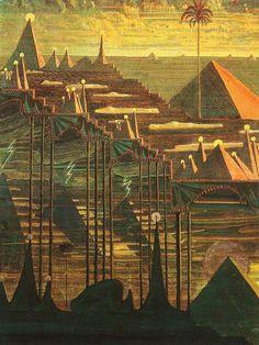 Sonata of the Pyramids: Allegro (1908), Mikalojus Konstantinas Čiurlionis