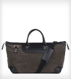 Lugano Waxed Canvas Travel Bag | Women's Bags & Accessories | Flote | Scoutmob Shoppe | Product Detail