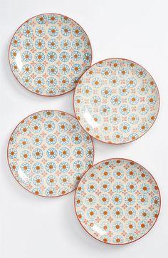 Pattern Inspiration Couleur Nature 'Blue d'Chine' Assorted Dessert Plates (Set of 4) | Nordstrom