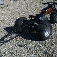 @island_chain_racing 's badass 160cc 70 drag bike he custom built a few years back #weLoveTrikes ...