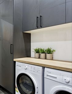 Laundry Area, Washroom, Washing Machine, House Ideas, Home Appliances, Houses, House Styles, Interior, Modern