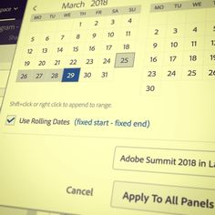 Save the dates for Adobe Summit 2018. See you in Las Vegas. Can't wait for Adobe Analytics sessions.  #AdobeAnalytics