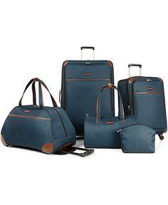 99f38bf013 Nine West Round Trip 5 Piece Luggage Set - Luggage Sets - luggage - Macy s  Bridal