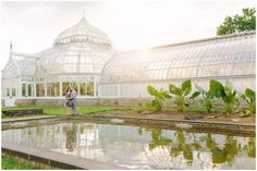 Engagement session at Phipps Conservatory, Pittsburgh