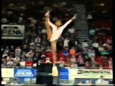 Dominique Dawes - 1993 Worlds AA Prelims - Balance Beam