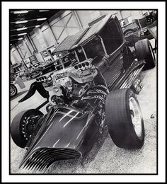 Custom Hot Rod Show Car, 1973 by Cosmo Lutz, via Flickr