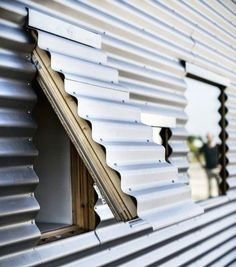 Facade Fix: 9 Ways to Add Curb Appeal with Corrugated Metal Siding: Gardenista