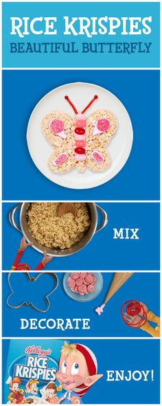 Have fun in a Snap with easy to make Rice Krispies Treats this Easter! All it takes are three simple ingredients to whip up these tasty snacks. It's guaranteed family fun because the possibilities are endless with creative decorations! Use this step by step as inspiration.