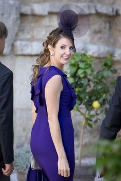 Princess Tessy of Luxembourg attends the royal (religious) wedding of her brother-in-law Prince Felix of Luxembourg to Claire Lademacher 9/21/2013