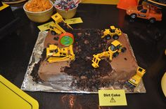 Results:  Dirt Cake