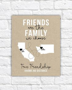 Friends of the Family Close Friends Gifts Christmas Gift for Farewell Gifts For Friends, Presents For Best Friends, Diy Gifts For Friends, Christmas Gifts For Friends, Best Friend Gifts, Gifts For Family, Christmas Stuff, Diy Christmas, Friend Moving Away Gifts