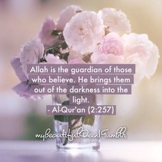 Surah Al-Baqarah Verse 257 Quran Verses, Quran Quotes, Faith Quotes, Hindi Quotes, Islam Hadith, Islam Quran, Alhamdulillah, Love In Islam, Allah Love