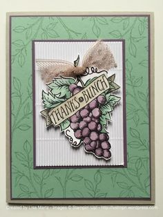 Thanks a Bunch by Lisa martz - SU - Market Fresh, Choose Happiness (branch) stamp sets - Stampin' Up!