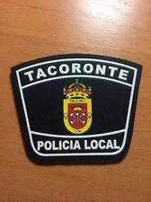 PATCH POLICE SPAIN - CANARY  ISLANDS - TACORONTE