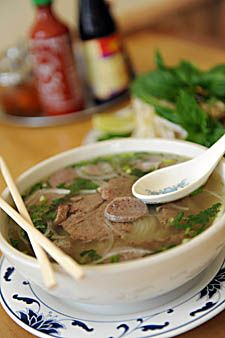 Beef Pho is one of the best Vietnamese dishes available at the Doson Noodle House, located right on the Red Streetcar on Carrollton Avenue! #nola #neworleans