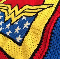 Superhero crochet patterns and blankets. Graphghan patterns include Batman, Superman, Wonder Woman, purses, toys, novelties.