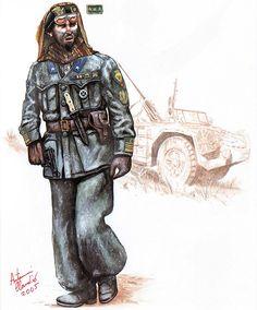 """""""Colonel (Colonnello), X Arditi (Commando) Regiment, Tunisia, 1943"""""""