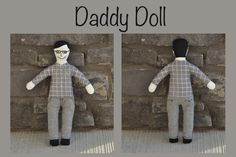 "mama-maja: Father's Day: ""Daddy Doll"""
