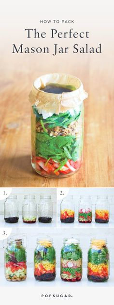 Add the Dressing | How to Make a Mason Jar Salad | POPSUGAR Food Photo 1