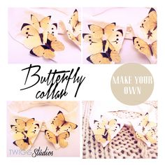 ..Twigg studios: butterfly collar tutorial