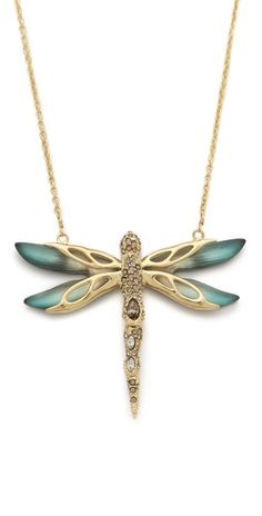 Alexis Bittar Neo Bohemian Dragonfly Necklace | SHOPBOP