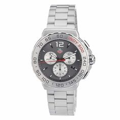 cef6d1f9e07 Light and so smart  TAG HEUER Chronograph Grey-Dial Stainless Steel Watch.  Honestly