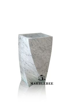 Beautiful design of Natural stone Pedestal sink