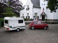 Trouwerij in de fiat 500 met een Chateau Mariée 290 Zie: http://www.kampeercentrumbudel.nl/fotoalbums/overzicht.asp?album=F12  voor meer foto's.