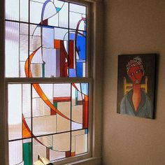 Art Deco Stained Glass Patterns transoms   Art Glass Windows
