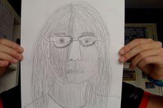 opdracht 1: zelfportret met potlood
