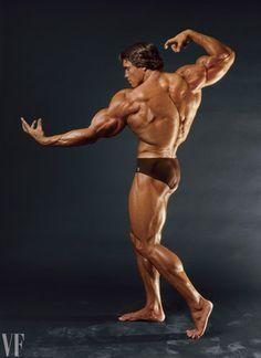 Arnold Schwarzenegger (by Annie Leibovitz)