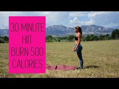 HIIT - REAL TIME - BURN 500 CALORIES - Country Strong Workout - No equipment needed! - YouTube