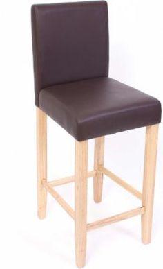 Barhocker TAUNUS, Stoffbezug, Sitzhöhe 72 cm, Rückenlehne + ...
