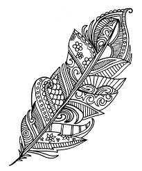 feathers coloring page 15 | Coloring | Pinterest | Feathers, Free ...