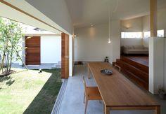 松原建築計画 / Matsubara Architect Design Office の 北欧デザインの リビング ダイニング