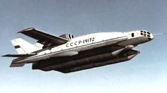 Bartini Beriev VVA-14, 1972, Russian vertical take-off amphibious aircraft...How does it fly??