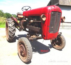 Massey Ferguson 21  1958  French Vintage Tractor